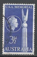 Australia 1955. Scott #280 (U) Top Of US Monument, Canberra * - 1952-65 Elizabeth II : Ed. Pré-décimales