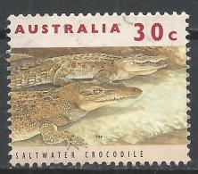 Australia 1994. Scott #1271 (U) Fauna, Saltwater Crocodile * - Oblitérés