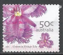 Australia 2005. Scott #2395 (U) Common Fringe Lily, Wild Flowers * - 2000-09 Elizabeth II