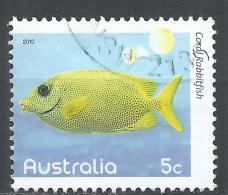 Australia 2010. Scott #3270 (U) Coral Rabbitfish * - 2010-... Elizabeth II
