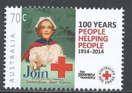 Australia 2014. Scott #4110 (MNH) Australian Red Cross, Cent. * - 2010-... Elizabeth II