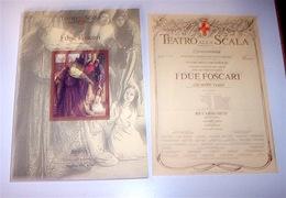 Musica Libri - Libretto Opera I Due Foscari Verdi Teatro Scala St. 2002/2003 - Non Classificati