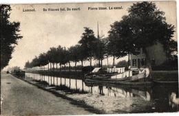 1 Oude Postkaart  Lommel  De Vaart De Blauwe Kei   Aak   Drukker Havermans - Lommel