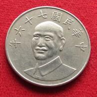 Taiwan 10 Yuan 1987 / 76 Y# 553  Lt 677  China Formosa Chine - Taiwan
