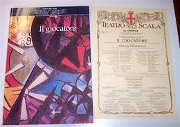 Musica Libri - Libretto Opera Ii Giocatore Prokofiev Teatro Scala St. 1995/1996 - Musica & Strumenti