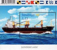 Slovenia - 2018 - Slovene Ships - Ljubljana - Mint Souvenir Sheet - Slovenië