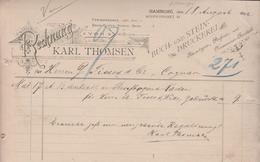 HAMBURG  KARL THOMSEN - Allemagne