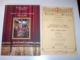 Musica Libri - Orchestra Coro Muti Concerto Natale Teatro Scala St. 2004 - Musica & Strumenti