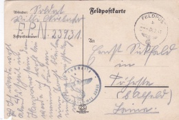 German Feldpost WW2: Plain Postcard From Wimereux Granville  In France - 4. (Gesteinsbohr) Kompanie Festungs-Bau-Bataill - Militaria