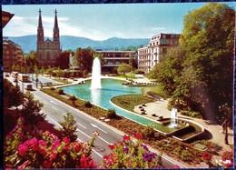 Baden - Baden - Augustaplaz . - Baden-Baden