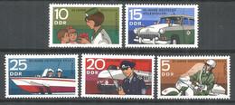 Germany DDR 1970 Year MNH(**) Mi.# 1579-83 - [6] Democratic Republic