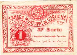 Portugal Cédula De Coruche 1 Ctv  Nº 779 3ª Série - Portugal