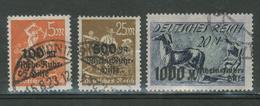 Duitse Rijk / Deutsches Reich DR 258 T/m 260 Used - Duitsland