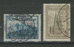 Duitse Rijk / Deutsches Reich DR 261 & 262 Used - Duitsland