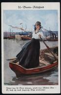 AK/CP Marine U Boot  Patriotik   U Flottille Flandern  Gel./circ. 1914-18    Erhaltung /Cond. 2  Nr. 00544 - Guerra 1914-18