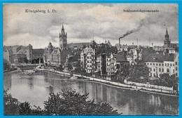 CPA AK Allemagne KÖNIGSBERG Ostpreussen - Schlossteichpromenade (kaliningrad) ° H.K.i.K. - Ostpreussen