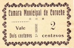 Portugal Cédula De Coruche Nº 777 -2 Ctv    ( Sem Impressão No Verso ) - Portugal