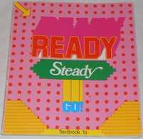 Ready Steady Go - Textbook 1a Av Av Bo Hedberg, Phillinda Parfitt & Inger Bergström; Från 80-talet - Langue Anglaise/ Grammaire