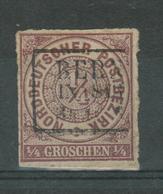 Norddeutscher Bund Mi. 1 Used - Conf. De Alemania Del Norte
