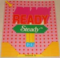 Ready Steady Go - Textbook 1b Av Bo Hedberg, Phillinda Parfitt & Inger Bergström; Från 80-talet - Langue Anglaise/ Grammaire