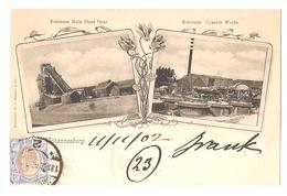 SOUTH AFRICA - JOHANNESBURG - ROBINSON MAIN HEAD GEAR / CYANIDE WORKS - STAMP - MAILED TO NOCERA - BARNETT 1902 (2787) - Afrique Du Sud