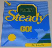 Ready Steady Go - Textbook 2a Av Bo Hedberg & Phillinda Parfitt; Från 80-talet - Langue Anglaise/ Grammaire