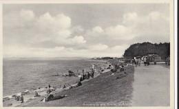 AQ67 Promenade And Beach, Silloth - 1930's Postcard - Cumberland/ Westmorland