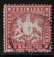 Nr. 19x A, Ordentliche Durchschnitts-Erhaltung, Mi. 150.-, #a797 - Wuerttemberg