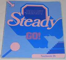 Ready Steady Go - Textbook 2b Av Bo Hedberg & Phillinda Parfitt; Från 80-talet - English Language/ Grammar