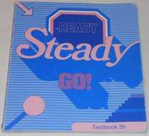 Ready Steady Go - Textbook 2b Av Bo Hedberg & Phillinda Parfitt; Från 80-talet - Langue Anglaise/ Grammaire