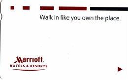 STATI UNITI KEY HOTEL  Marriott - Walk In Like You Own The Place - Cartes D'hotel