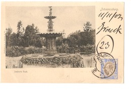 SOUTH AFRICA - JOHANNESBURG - JOUBERTS PARK - STAMP - MAILED TO NOCERA INFERIORE - EDIT BARNETT 1902 (2790) - South Africa