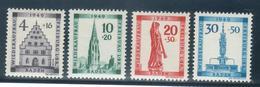 Baden 38A T/m 41A MNH ** (1949) - Französische Zone