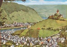 Cochem   H906          ... Blick Von Der Umkehr Auf Stadt Und Burg Cochem - Cochem