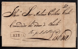 MARINHA - LEIRIA - PORTUGAL / 1828 LAC POUR LISBONNE - LISBOA (ref 6740) - ...-1853 Préphilatélie