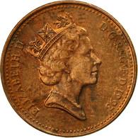 Monnaie, Grande-Bretagne, Elizabeth II, Penny, 1993, TB+, Copper Plated Steel - 1971-… : Monnaies Décimales