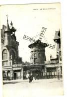 CPA .le Moulin Rouge - France