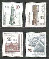 Germany DDR 1986 Year MNH(**) Mi.# 2993-96 - [6] Democratic Republic