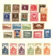 Pologne Petite Collection De Timbres Locaux Anciens Neufs */(*). B/TB. A Saisir! - Neufs