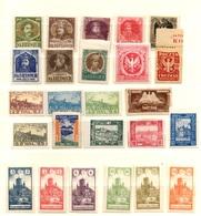 Pologne Petite Collection De Timbres Locaux Anciens Neufs */(*). B/TB. A Saisir! - ....-1919 Provisional Government