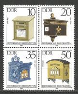 Germany DDR 1985 Year MNH(**) Mi.# 2924-27 - [6] Democratic Republic