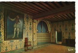 CPM.Blois.le Château.chambre Du Roi Henri III Où Vint Expirer Le Duc De Guise - Blois