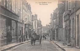 LA CHATRE - Rue Nationale - Attelage - La Chatre
