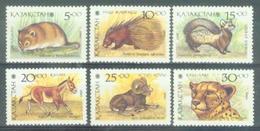 KAZ 1993-31-6 FAUNA, KAZAKISTAN, 1 X 6v, MNH - Kazakhstan