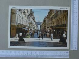 PORTUGAL - RUA AUGUSTA -  LISBOA -   2 SCANS  - (Nº24434) - Lisboa