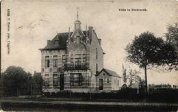 2 Oude Postkaarten  STABROEK Godshuis  Uitg. Hoelen N°3654  Villa Hoelen N°4968 1908-1911 - Stabroek