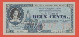 BON MATIERE - PAPIER & CARTON - 200 Francs De O C R P I Du 12 1947 - Bonds & Basic Needs