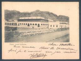 Rare ADEN French Consulate Sent From Hodeidad 1902 Ottoman Stamp - Yémen