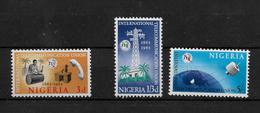 Nigeria, 1965 ITU Centenary, Complete Set MNH (6836) - Nigeria (1961-...)