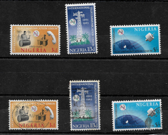 Nigeria, 1965 ITU Centenary, Complete Set MM And Used (6837) - Nigeria (1961-...)